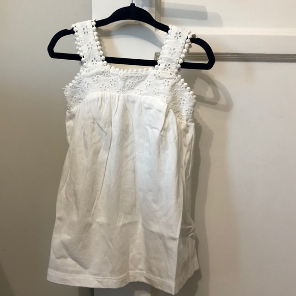 NWT Gap white eyelet dress - 12-18 MO